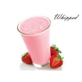 Whipped Strawberry Milk