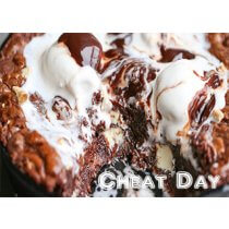 Cheat Day Brownie Skillet