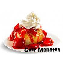 Chef Monster Strawberry Shortcake
