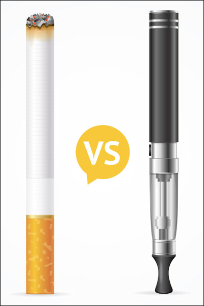 Difference Smoking vs Vaping